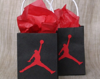 Jumpman Favor Bags - 12 Count