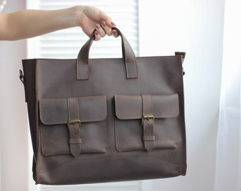 Leather messenger bag, leather crossbody, mens leather briefcase, leather messenger bag, leather satchel, leather briefcase, leather handbag