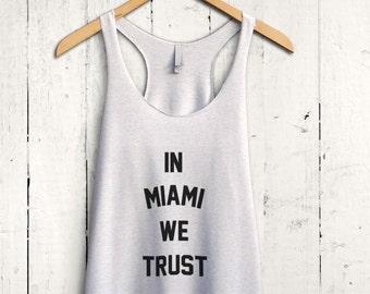 Miami Tank top - miami heat shirt, miami dolphins top, miami fan tank top, miami marlins shirt, miami hurricanes top, miami shirt