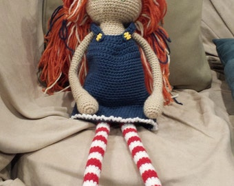 Crocheted Doll - Made to order