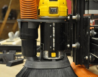 DeWalt dwp 611 router CNC dust shoe