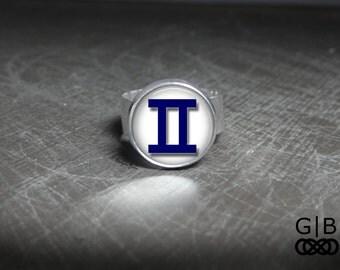 Gemini Statement Ring Gemini Jewelry Rings - Gemini Birthday Ring - June Birthday Ring - Gemini June Ring - Gemini May Birthday Ring Jewelry
