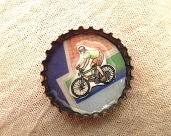 Bottle cap magnets (set of 5)