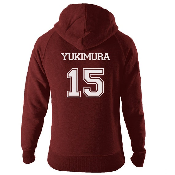 yukimura 15 lacrosse hoodie teen wolf beacon hills by. Black Bedroom Furniture Sets. Home Design Ideas