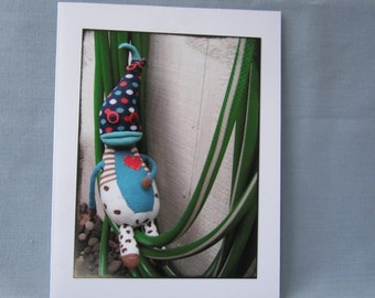 Sock Monster Card- Chillgood