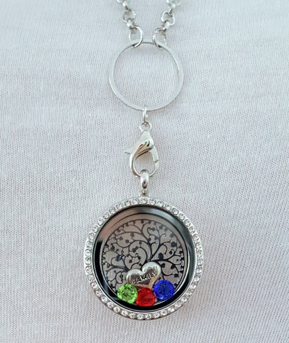 Mom Memory Locket / Grandma Memory Locket / Gifts for Mom / Gifts for Grandma / Mom Necklace / Grandma Necklace / Mother Necklace