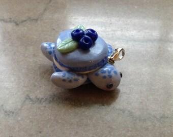 Blueberry Macaron Turtle