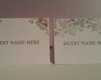 Whimsy Tented Place Cards