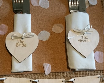 100 Laser Engraved Place Settings
