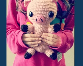 Gravity Falls Waddles Crochet Doll