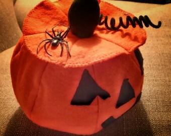 Soft Halloween Jack-O-Lantern