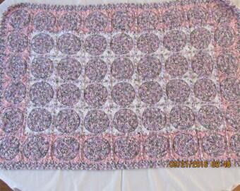 Custom Crocheted Baby Blanket
