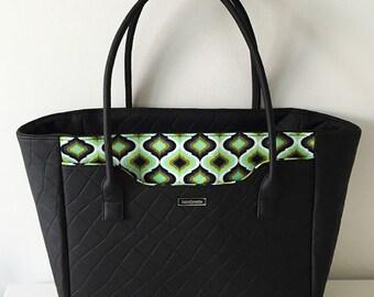 Stockholm Bag - Big & Easy to Make Handbag - PDF Sewing Pattern