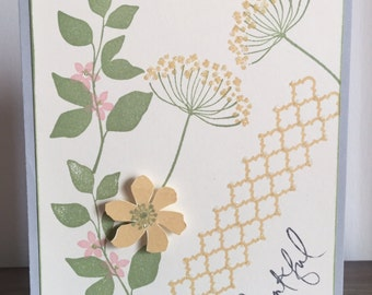 C39 Thankful, Any occasion, Everyday card, Handmade cards