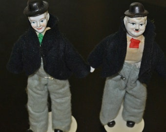 Laurel and Hardy Dolls, Collector Dolls, Stan and Ollie