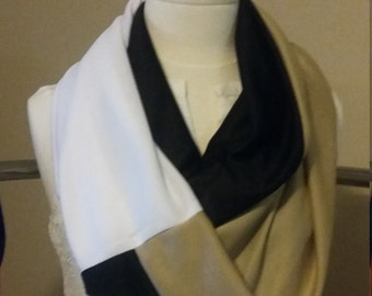 Three pattern scarf Casual/Professional