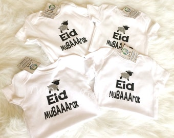 Eid baby bodysuit Eid Ul-Adha Eid Mubarak, eid onesie, my first eid onesie eid gift, islamic gift, gerber eid al adha, hajj gift,