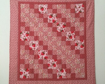 Baby quilt, Baby girl quilt, Pieced baby quilt, Girl crib quilt, GotBabyGetQuilt, Baby quilt handmade, Quilts for sale, Toddler quilts