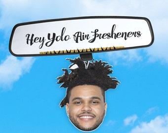 Weeknd Air Freshener - Car Air Freshener - Fresh Scents - Hip Hop Head