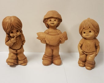 Adorable Vintage 1970s Fannykins Figurines by Bill Mack, Vintage Collectibles