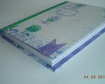 Notepad in Coptic binding