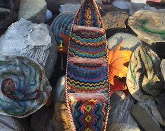 Ceramic Tiki Boat