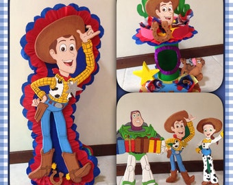 Toy Story birthday set. 5 pieces. Party Decorations and Supplies