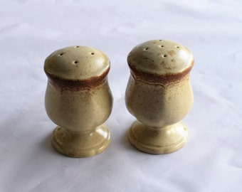 Vintage Mikasa Salt and Pepper Shakers/ Stoneware from Japan