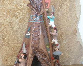 Large Teepee Storyteller/Romper