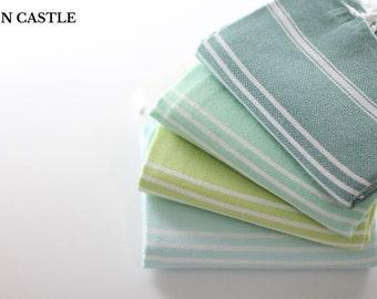 Set of 4 | Tea Towel Set | Dish Towel | Kitchen Towel | Turkish Hand Towel | Kitchen Towel Set | Baby Towel | Tea Towel | Kitchen Decor