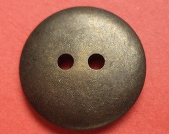 10 BUTTONS bronze 18mm 20mm (1902-1921) button