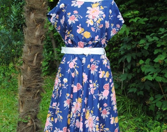 Cotton dress 60s