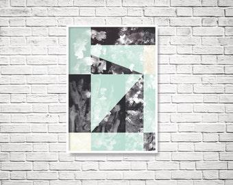 Printable art, digital print, digital download, abstract print, instant download printable art, Digital art, instant download, downloadable