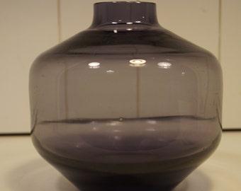 Purple Art Glass Vase