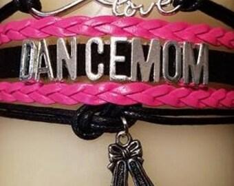 Dance Mom Layered Charm Bracelet - PRICE REDUCED!