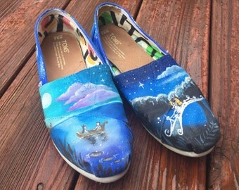 Hand Painted Disney Shoes!