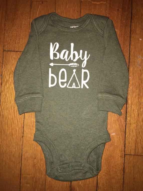 Baby Bear Teepee Onesie
