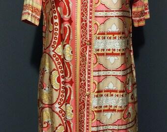 1960s Mod Shirt Dress