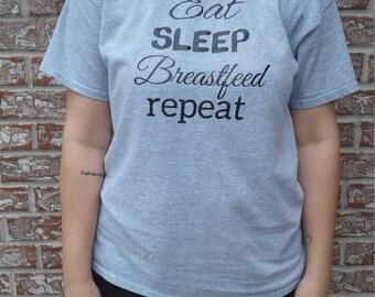 Eat, sleep, breastfeed, repeat