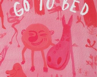 Bedtime Story - Go To Bed - an Interactive Children's Book