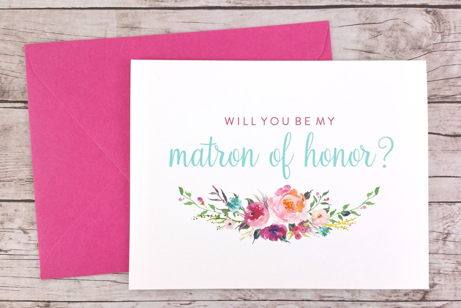 Will You Be My Matron Of Honor Card (FPS0021