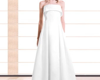 Haute Couture Wedding dress / bridal gown of Haute Couture
