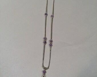 Light Purple Amethyst Liquid Silver (1 Style)