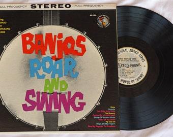 Banjos Roar and Swing - International Award Series - AK-180 - 1961