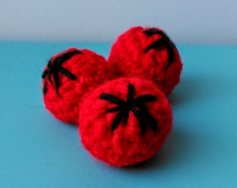 PATTERN Crochet Tomato
