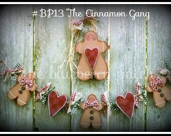 The Cinnamon Gang Pattern Packet BP13