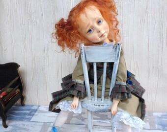 Nikol, art doll from IrinaArtDollsStore