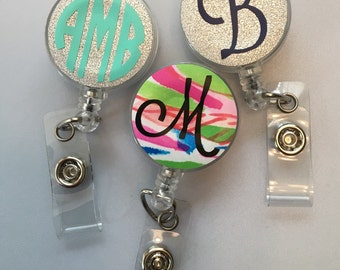 Personalized Retractable Badge Reels-Nurse Accessories-Nursing School-Teacher Gift
