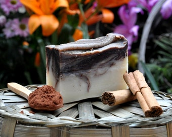 Cinnamon and Cocoa Natural Soap