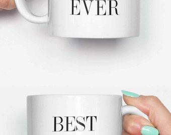 Best boyfriend ever - funny mug, coffee mug, office mug, gifts for him, cute mug, birthday mug, gifts for her 4C044
